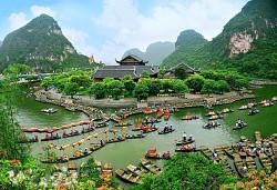 Tour Du lịch Bái Đính, Tràng An 1 Ngày Khởi hành từ Hà Nội