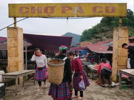 Chợ Phiên Pà Cò, Điểm đến ít người biết ở Mai Châu