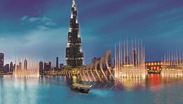 Đắm chìm trong Show diễn Nhạc Nước tại Dubai