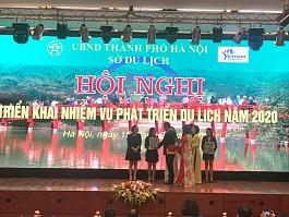 VietSense Travel giành giải nhất bình chọn DN Lữ hành trên website sở Du lịch Hà Nội