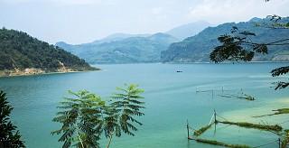 Tour du lịch Thung Nai, Thác Bờ