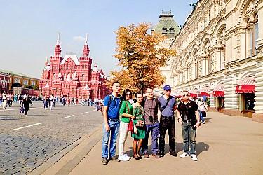Tour Nga 8 Ngày: Moscow -  Saint Petersburg